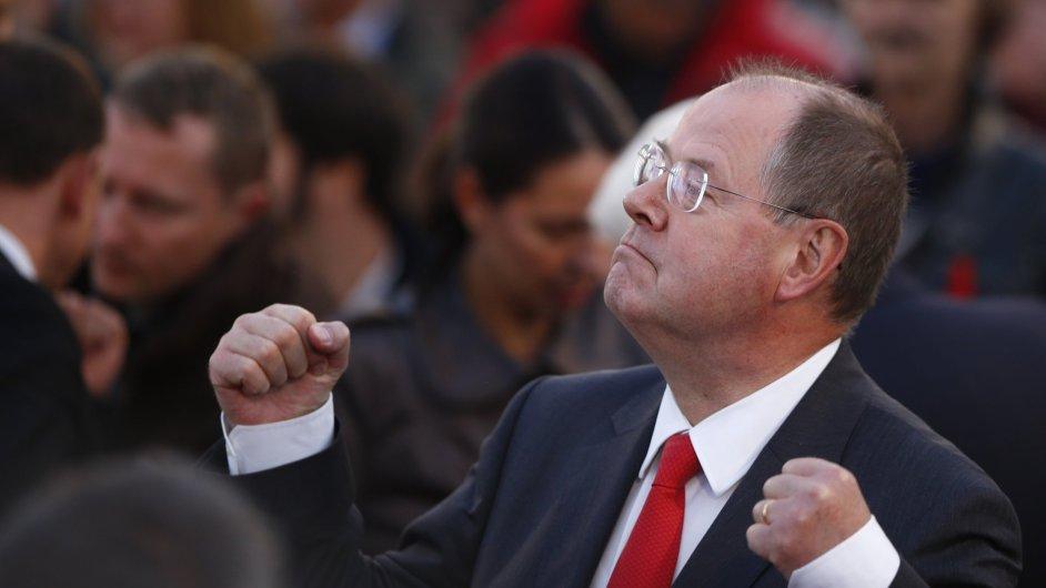 Lídr SPD Peer Steinbrück