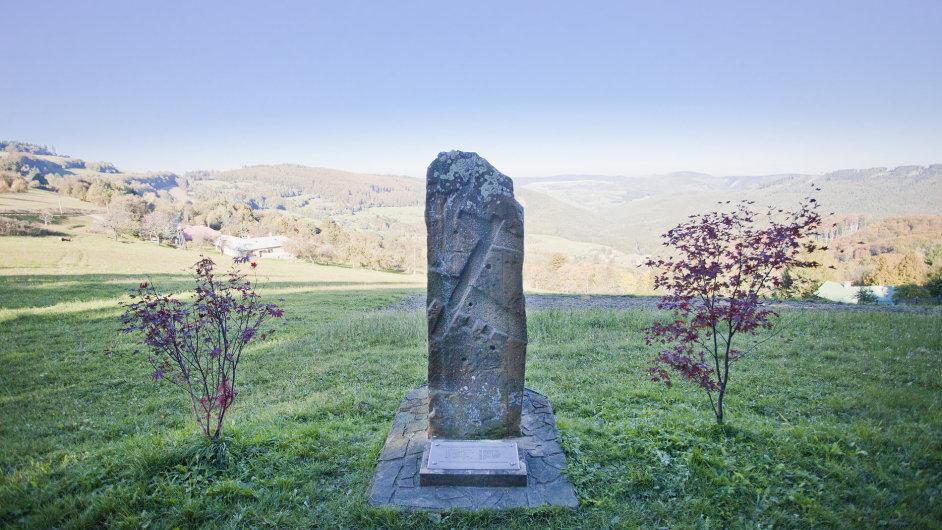 Pomník americkým letcům nad Moravskými Kopanicemi