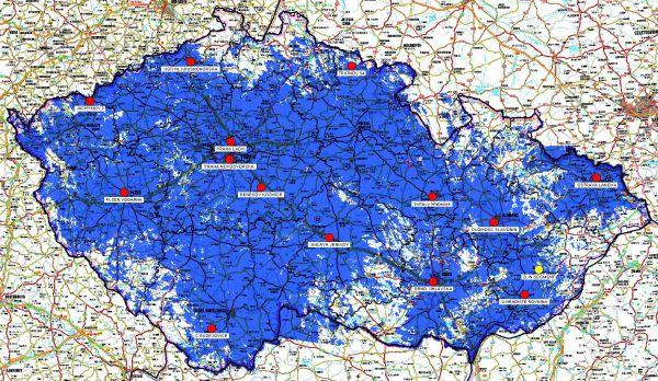 Mapa pokryti RS7