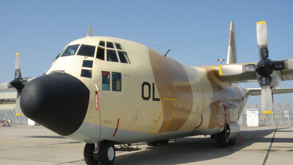 Marocký armádní dopravní letoun typu C 130 Hercules