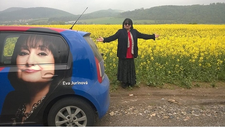 Eva Jurnová a kampaň do europarlamentu