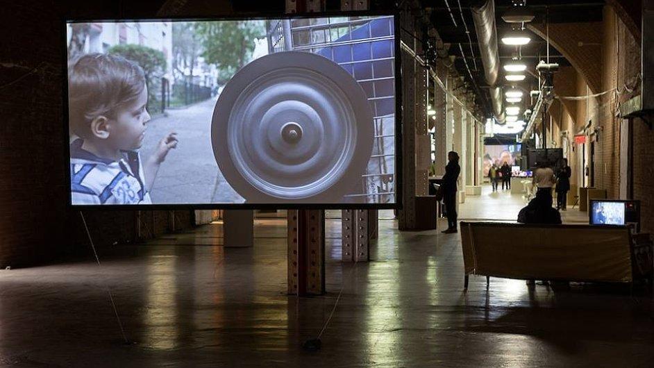 Snímky z veletrhu Moving Image 2014 v New Yorku