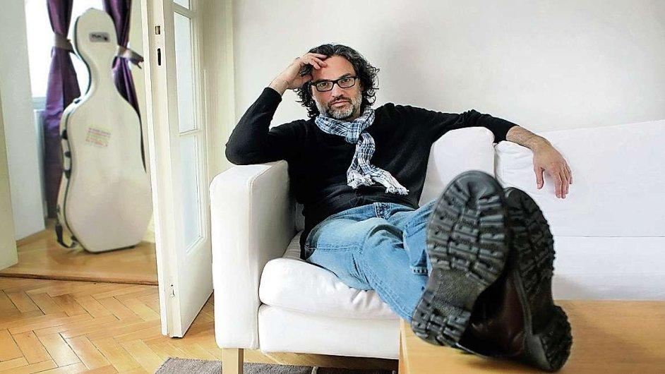 Už sedm let je violoncellista Jiří Bárta (na snímku) dramaturgem i duší hudebního festivalu v Kutné Hoře.