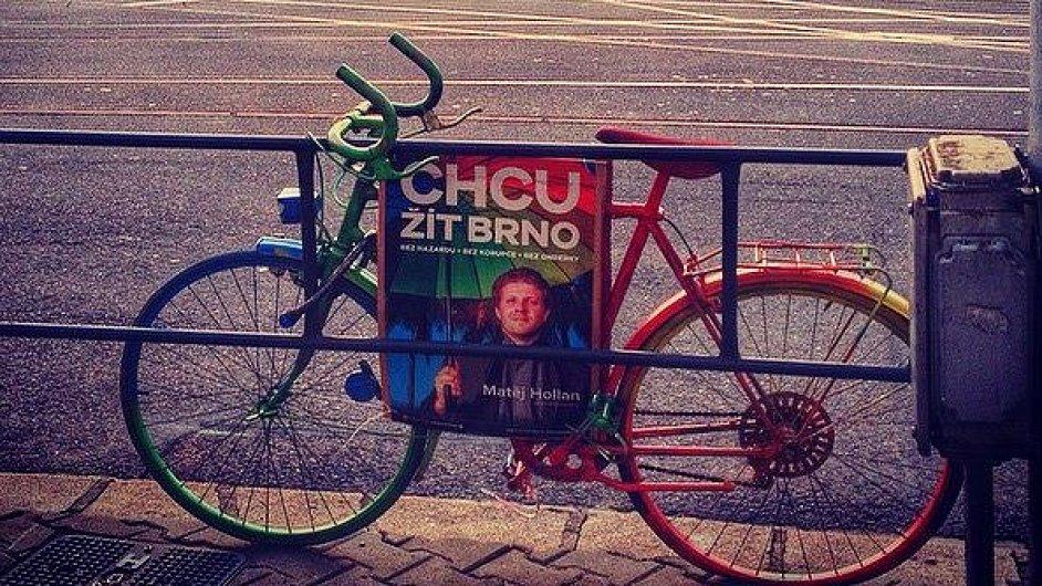 Předvolební kampaň Žít Brno