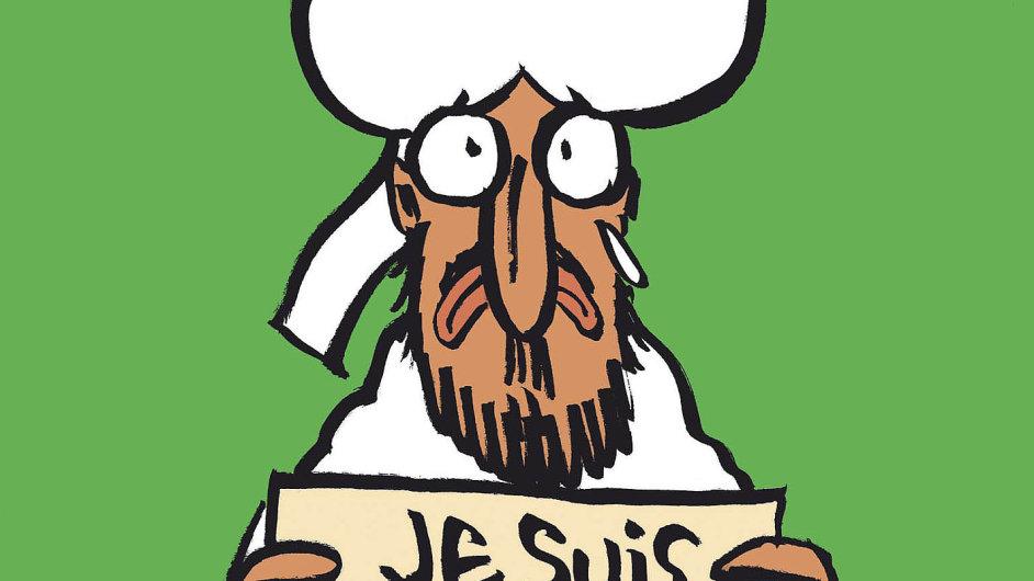 Obálka týdeníku Charlie Hebdo
