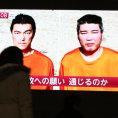 Dvojice japonsk�ch rukojm� Haruna Jukawa a Kend�i Goto, jejich� zabit�m vyhro�oval Isl�msk� st�t.