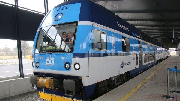 České dráhy připravují pro cestující řadu novinek, kterými reagují na vlakovou i autobusovou konkurenci - Ilustrační foto