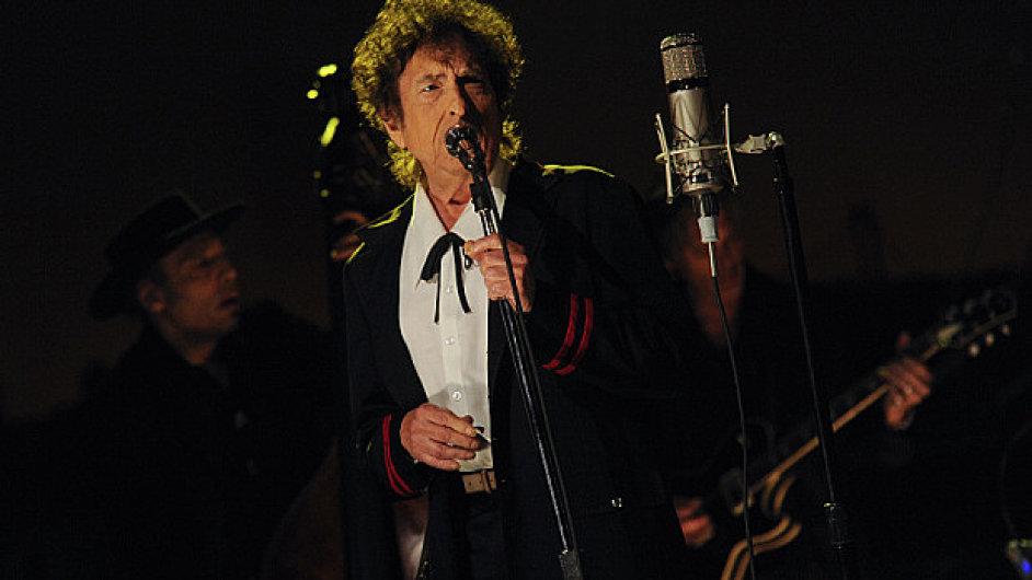 Bob Dylan v pořadu Davida Lettermana.