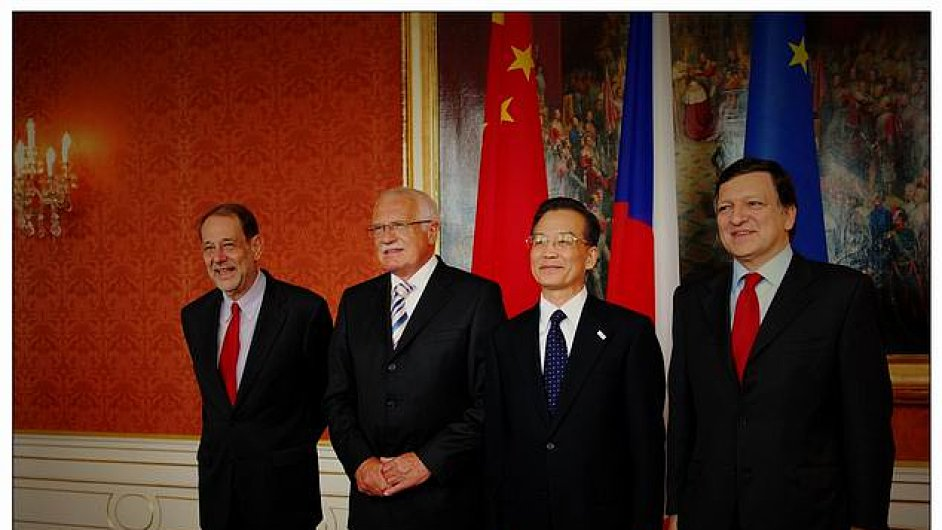Ilustrační snímek s někdejším prezidentem Václavem Klausem ze stránek Česko-Čínské kulturní asociace.