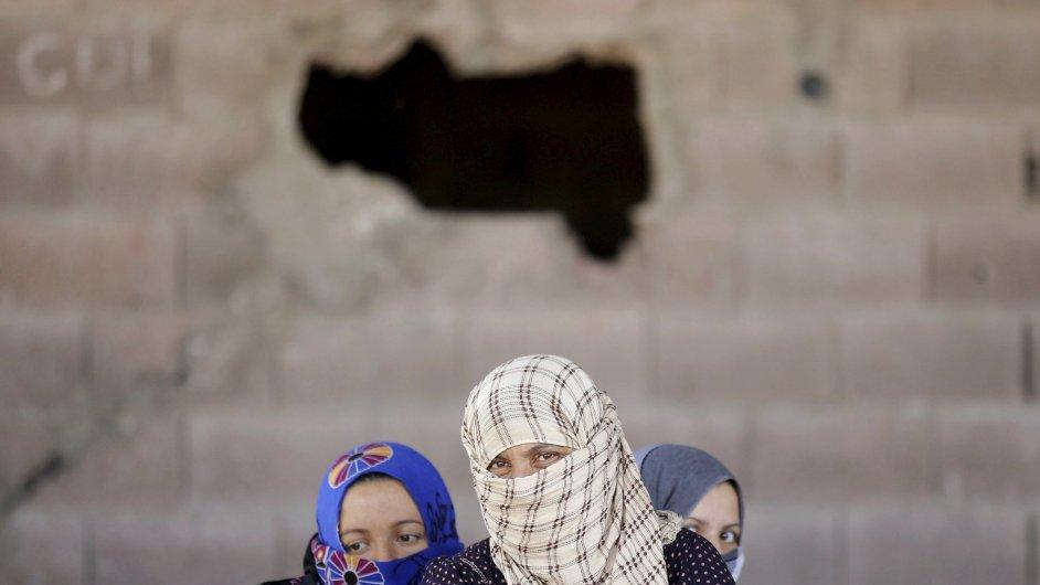 Uprchlíci, střední východ.