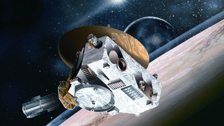 Sonda New Horizons odstartovala v roce 2006 a v úterý proletí v nejbližší vzdálenosti kolem Pluta, hlavního cíle své mise.