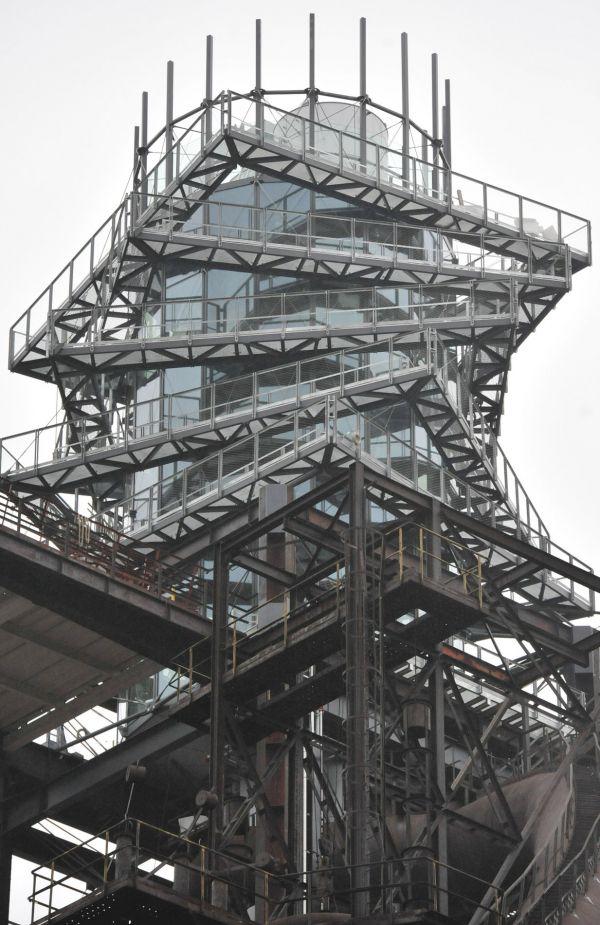 Stavba roku 2015 - n�stavba vysok� pece Bolt Tower v Ostrav�