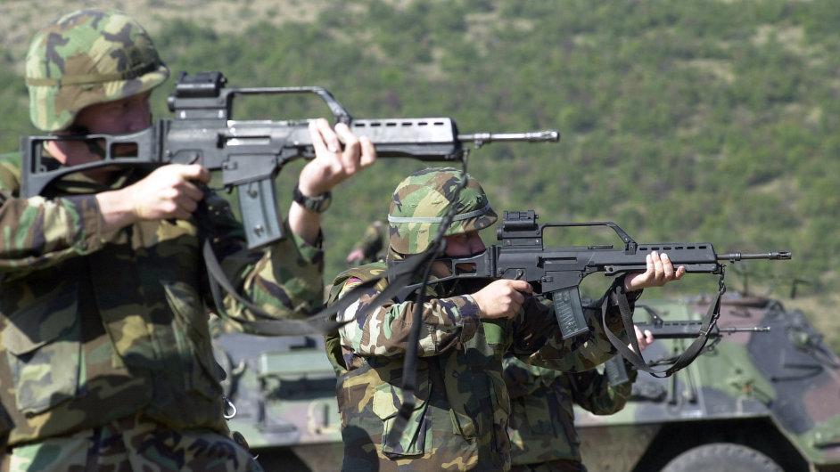 Pušky Heckler & Koch mají ve výbavě i americké speciální jednotky (ilustrační foto).
