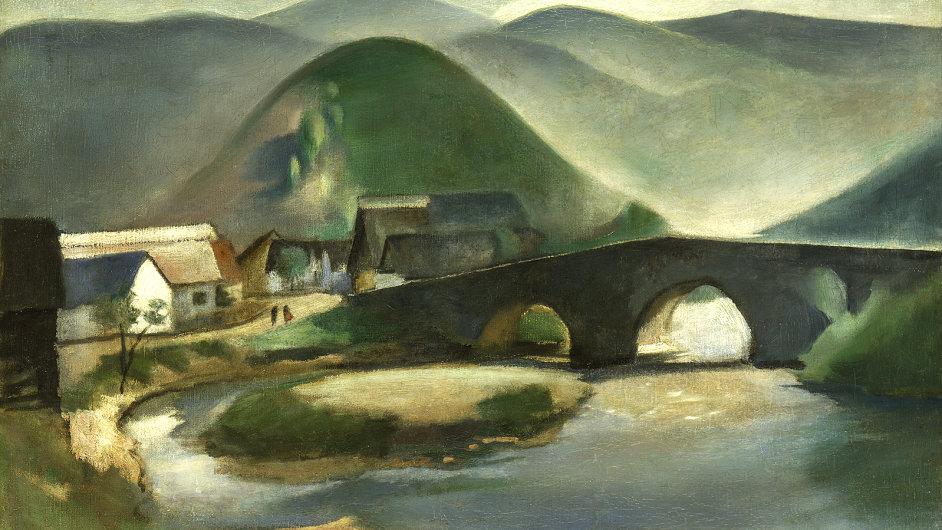 Rudolf Kremlička: Slovenská krajina, 1919