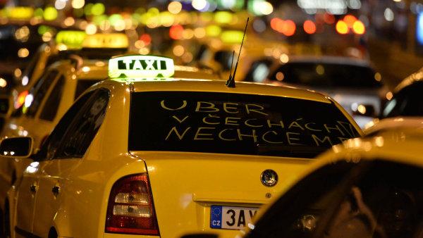 Uber v Brně prohrál - Ilustrační foto.