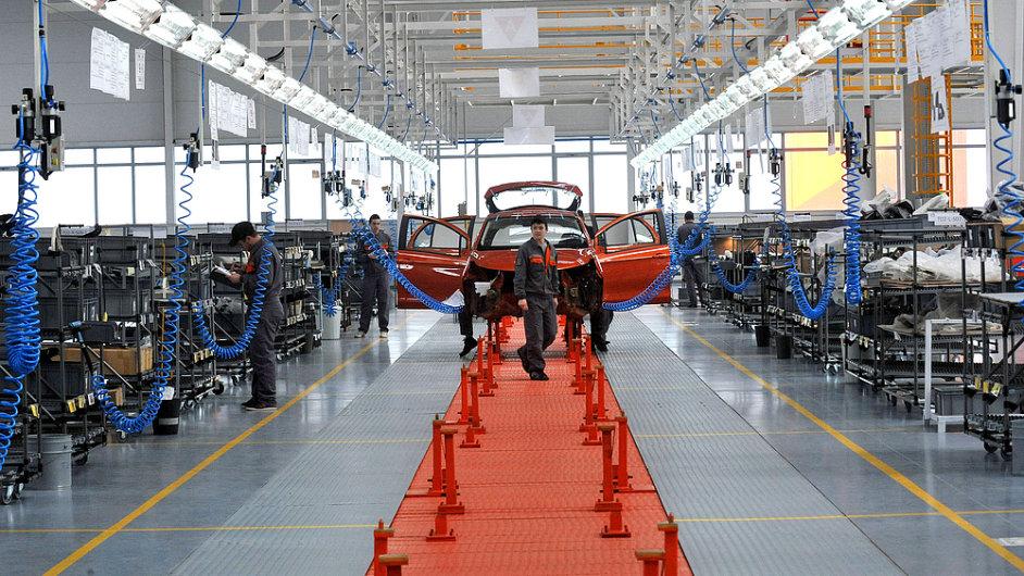 Automobilka, továrna