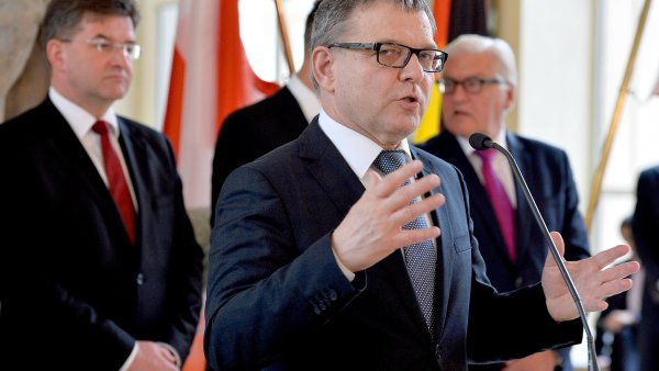 Ministři zahraničí V4 a Německa jednali v Praze o situaci kolem odchodu Británie z EU.