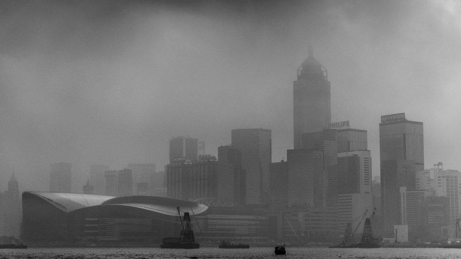 Smog v Číně způsobuje stále větší nárůst teplot - Ilustrační foto.