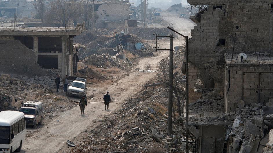 Aleppo, Sýrie.