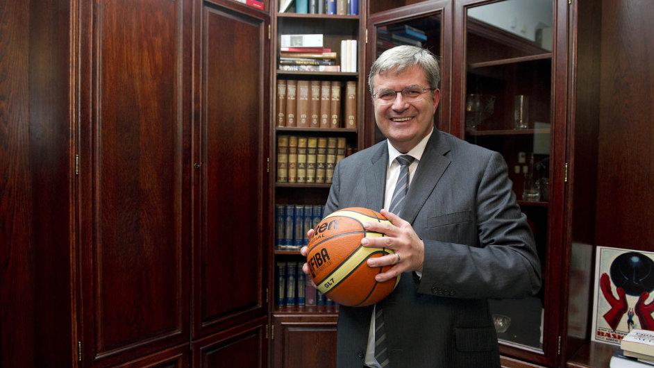 Šéf České unie sportu Miroslav Jansta.