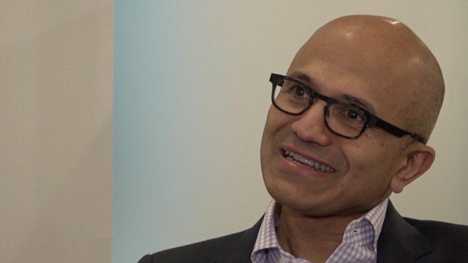 Satya Nadella přijel do Česka. Exkluzivní rozhovor s ředitelem Microsoftu