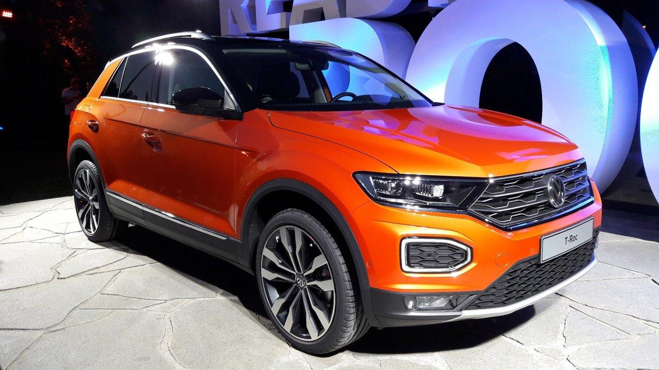 Volkswagen představil kompaktní SUV T-Roc.