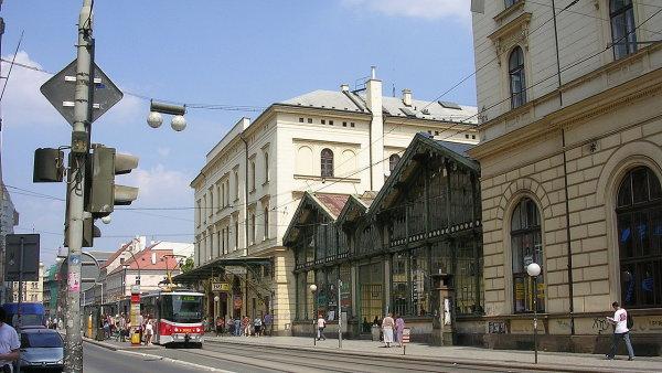 Masarykovo nádraží, pohled z Havlíčkovy ulice