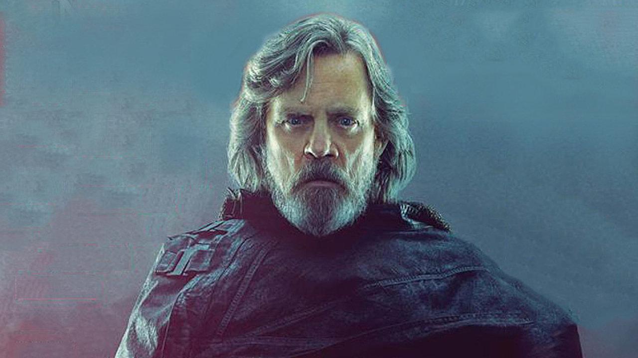 Film Star Wars: Poslední z Jediů začnou česká kina promítat 14. prosince. Na snímku je Mark Hamill v roli Lukea Skywalkera.