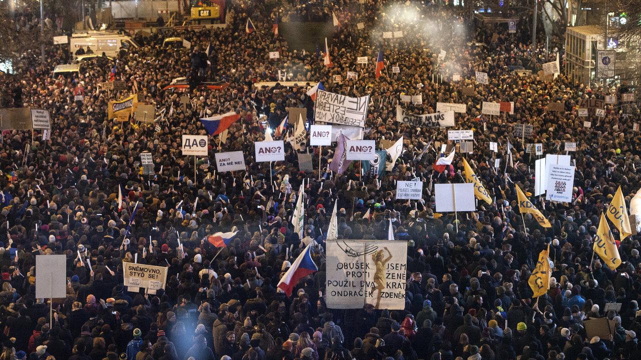 Česko, protesty