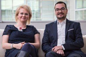 Iveta Chválová a Edo Wijkhuizen, ředitelé SAP Services v Praze