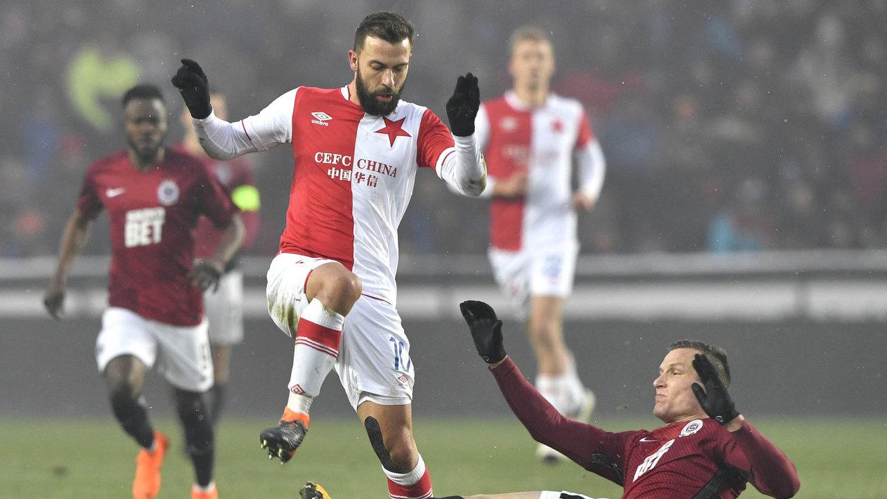 Slavia vs. Sparta: Největší rivalové českého fotbalu ksobě mají poposledních událostech kolem CEFC možná až příliš blízko.