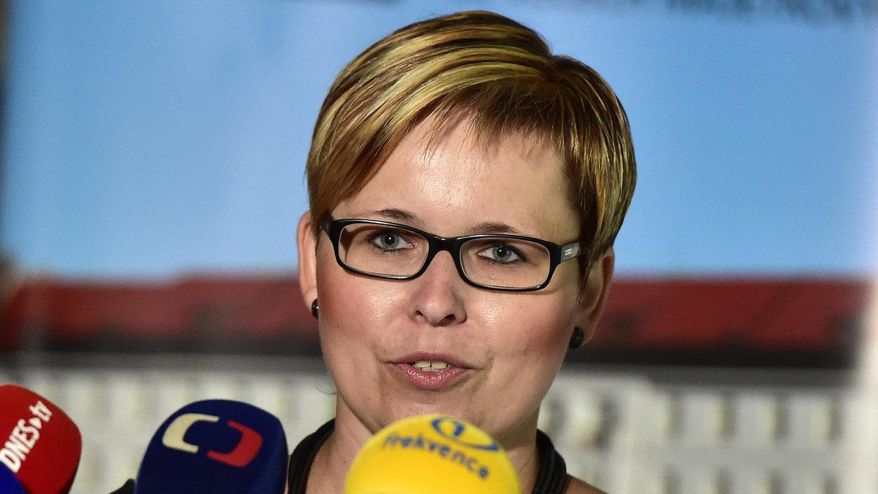 Generální ředitelka Úřadu pro zastupování státu ve věcech majetkových Kateřina Arajmu.