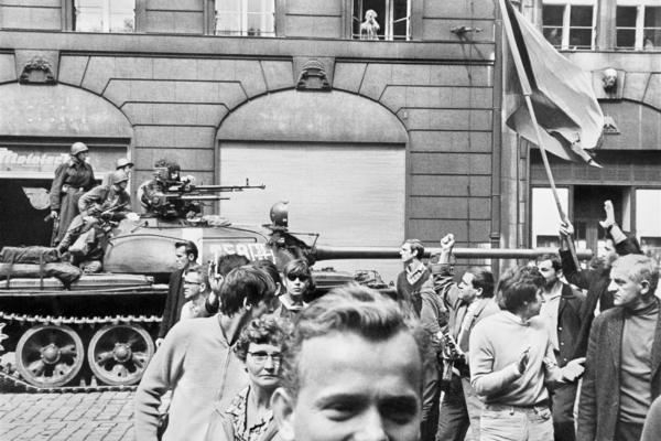 Praha v srpnu 1968 očima amerického studenta Paula Goldsmitha.
