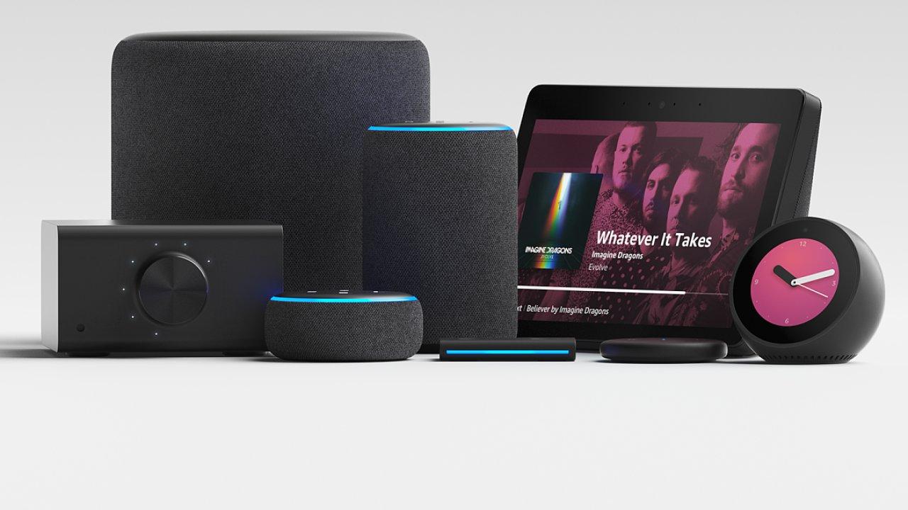 Amazon Alexa rodina produktu