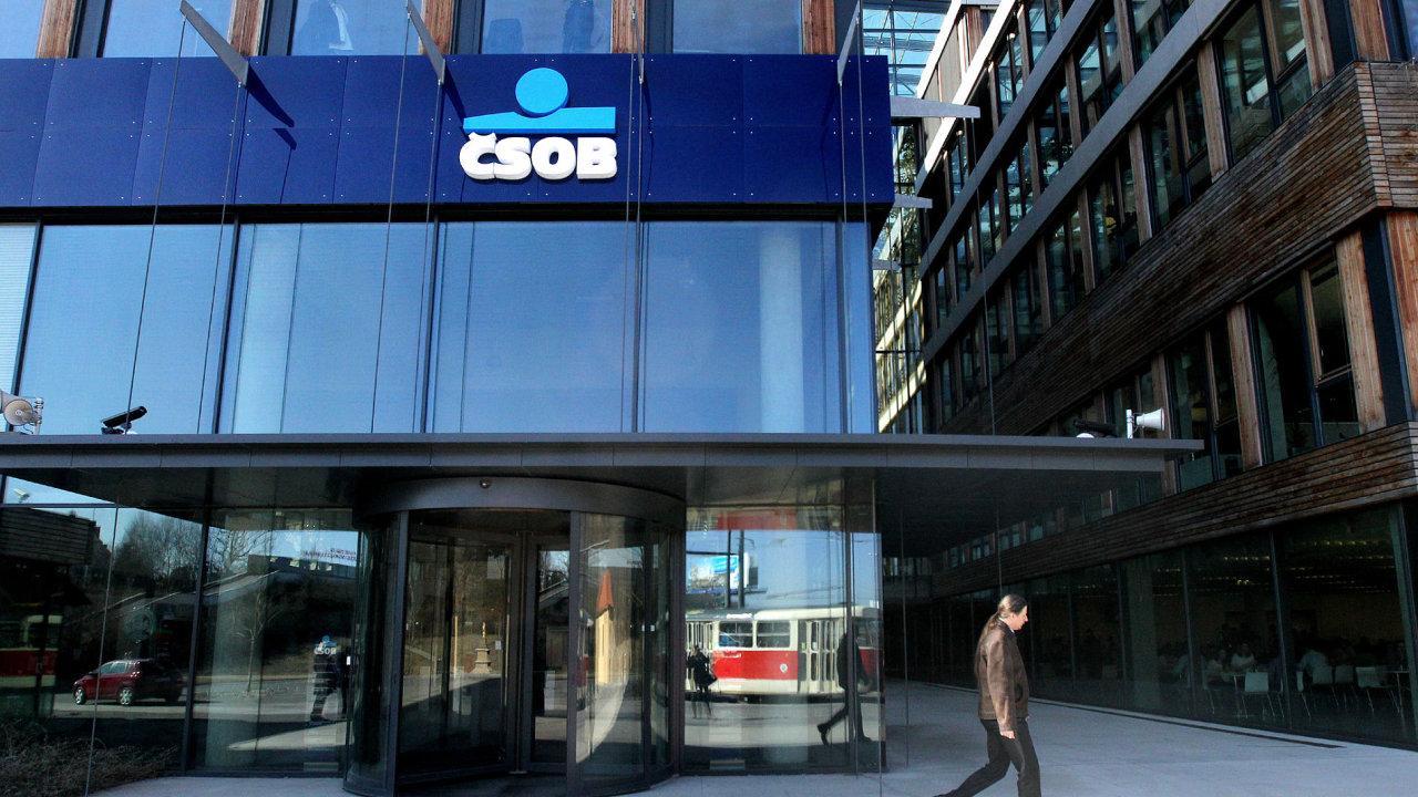 Své hospodářské výsledky ve čtvrtek oznámí česká banka ČSOB.
