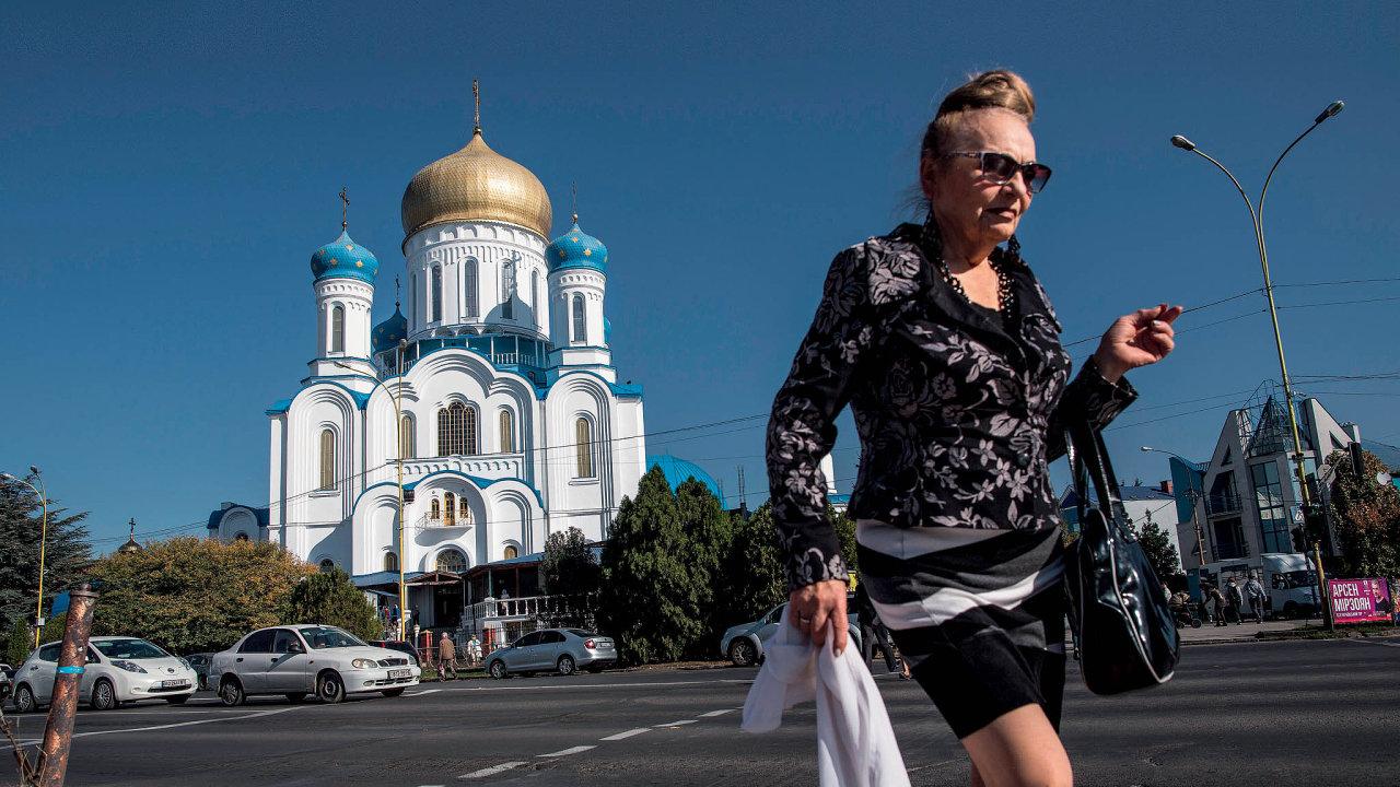 Užhorod byl hlavním městem československé Podkarpatské Rusi, dnes ukrajinské Zakarpatské oblasti.