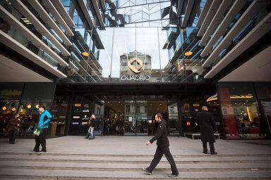 Mezi projekty Czech Property Investments patří například multifunkční komplex Quadrio v centru Prahy.