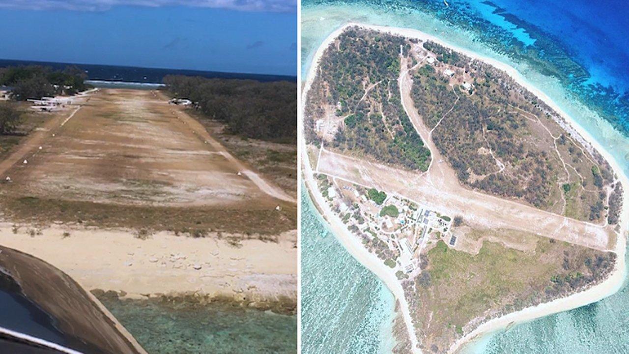 Extrémní letiště: přistávací dráha rozděluje ostrov na dvě poloviny