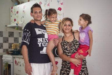Do brněnského projektu Rapid Re-Housing, jedné z částí kampaně Housing First, byly zapojeny náhodně vybrané rodiny s dětmi v bytové nouzi.