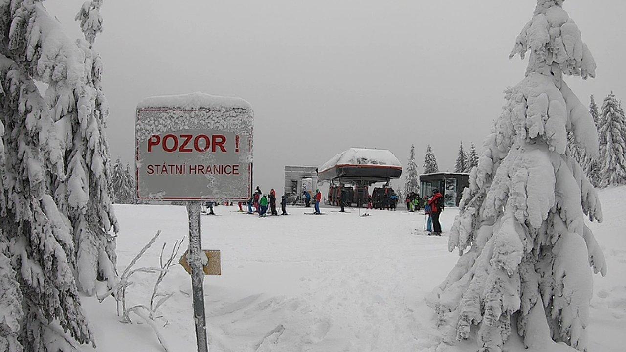 Ski areál Hochficht. Lyžařský sen v Rakousku je jen kousek za hranicemi.