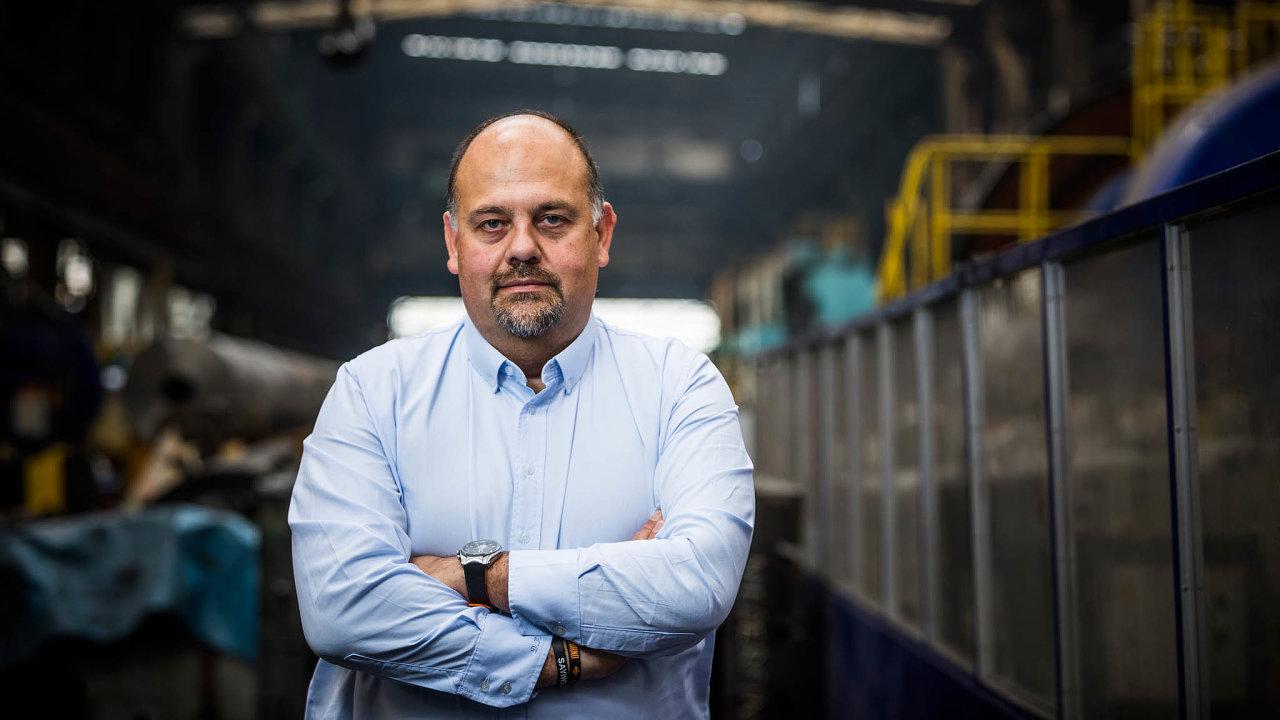 Daniel Kurucz, generální ředitel Vítkovice Heavy Machinery