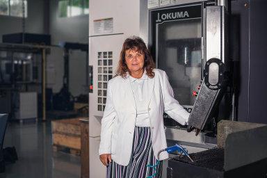 Alena Lubasová, ředitelka firmy Strojírna Oslavany