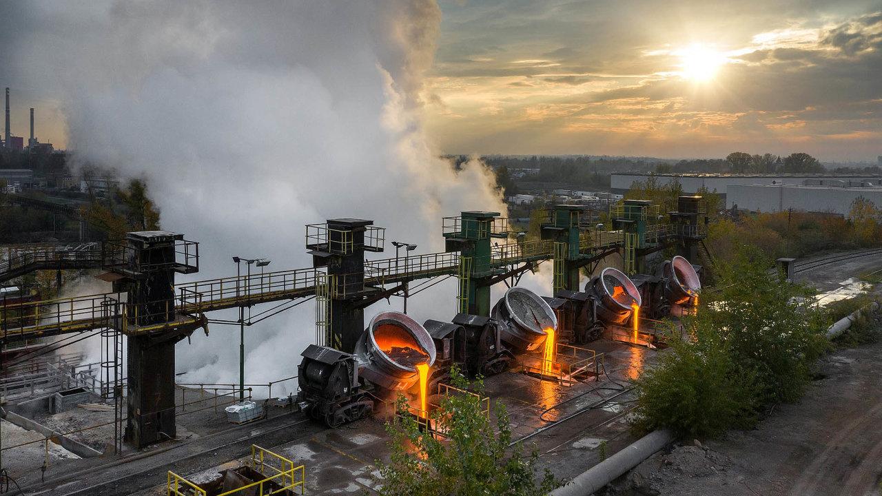 Zvyšovat podíl železného šrotu při výrobě oceli se snaží ispolečnost Liberty Ostrava.