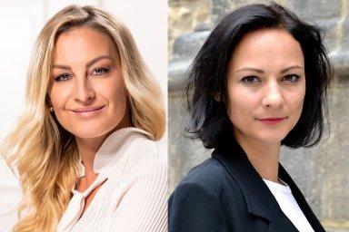 Lenka Černohousová a Monika Rohlenová, Account Managerky v agentuře AMI Communications