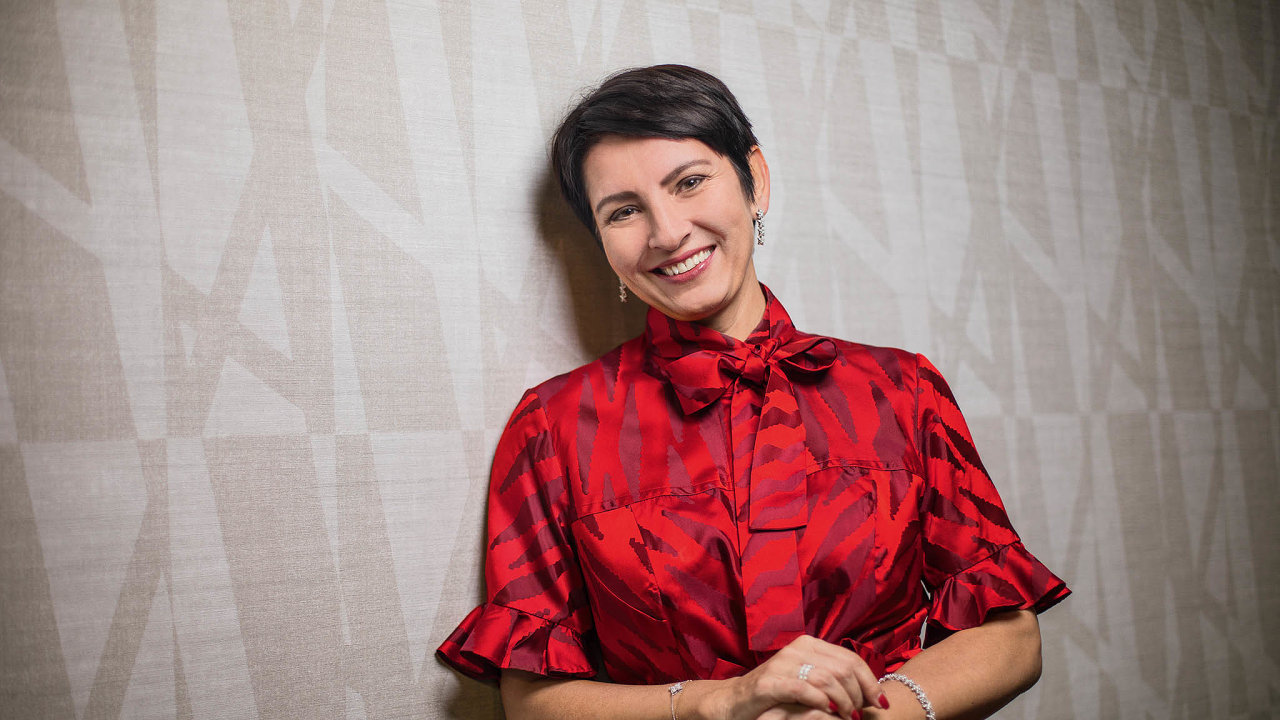 Spolumajitelka avýkonná ředitelka firmy Alca plast Radka Prokopová