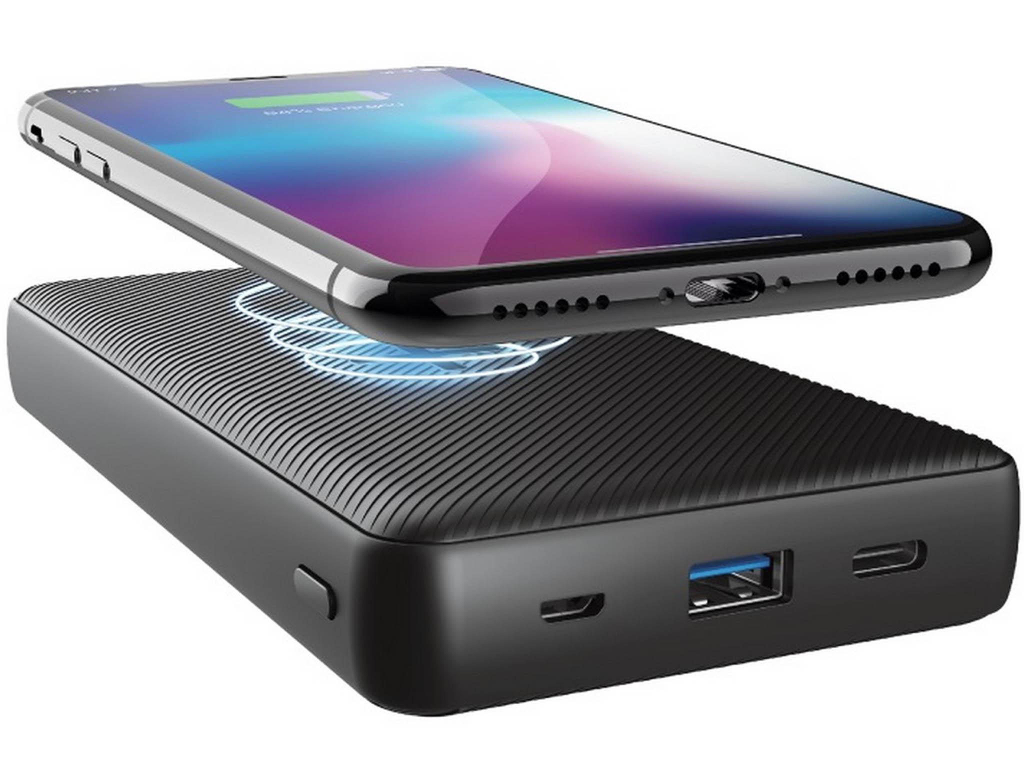 Externí dobíjecí baterii, která doplní energii telefonům, hodinkám i sluchátkům, a to i bezdrátově, nabíjením, nabízí společnost Trust za rozumných 999 korun.