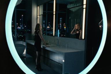 Snímek ze třetí řady seriálu Westworld.