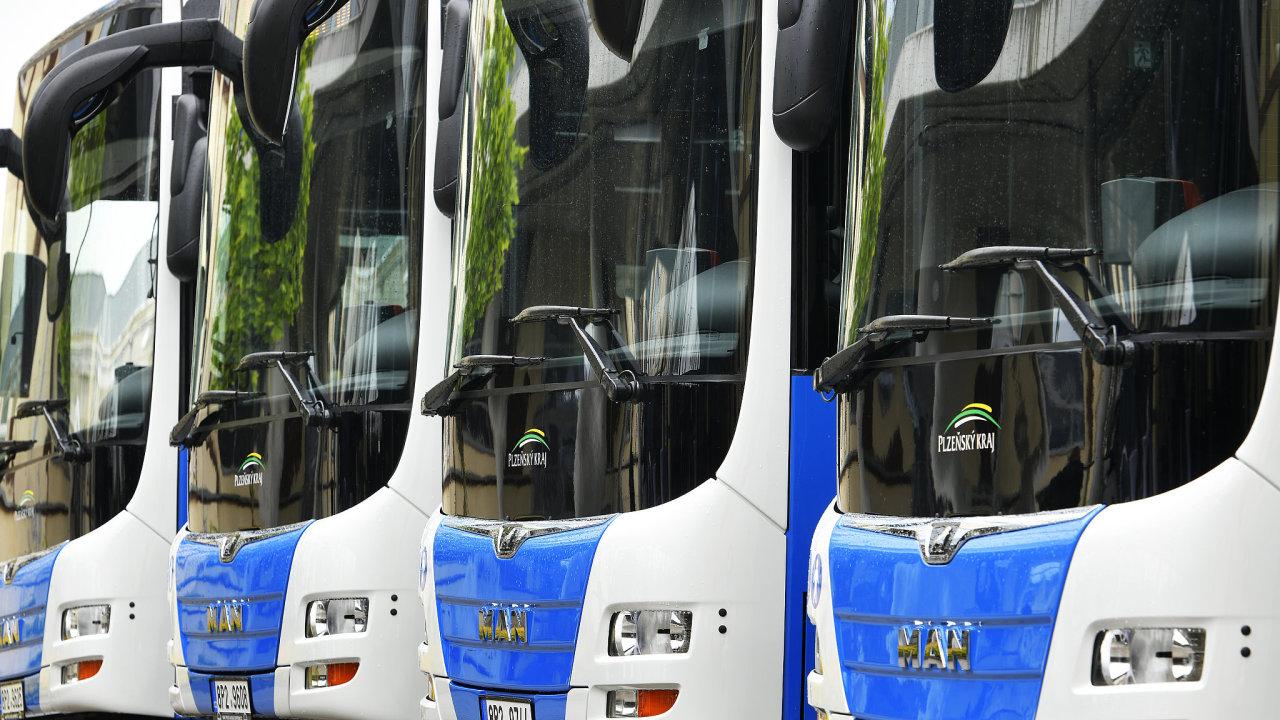 Předání autobusů MAN společnosti ARRIVA Střední Čechy