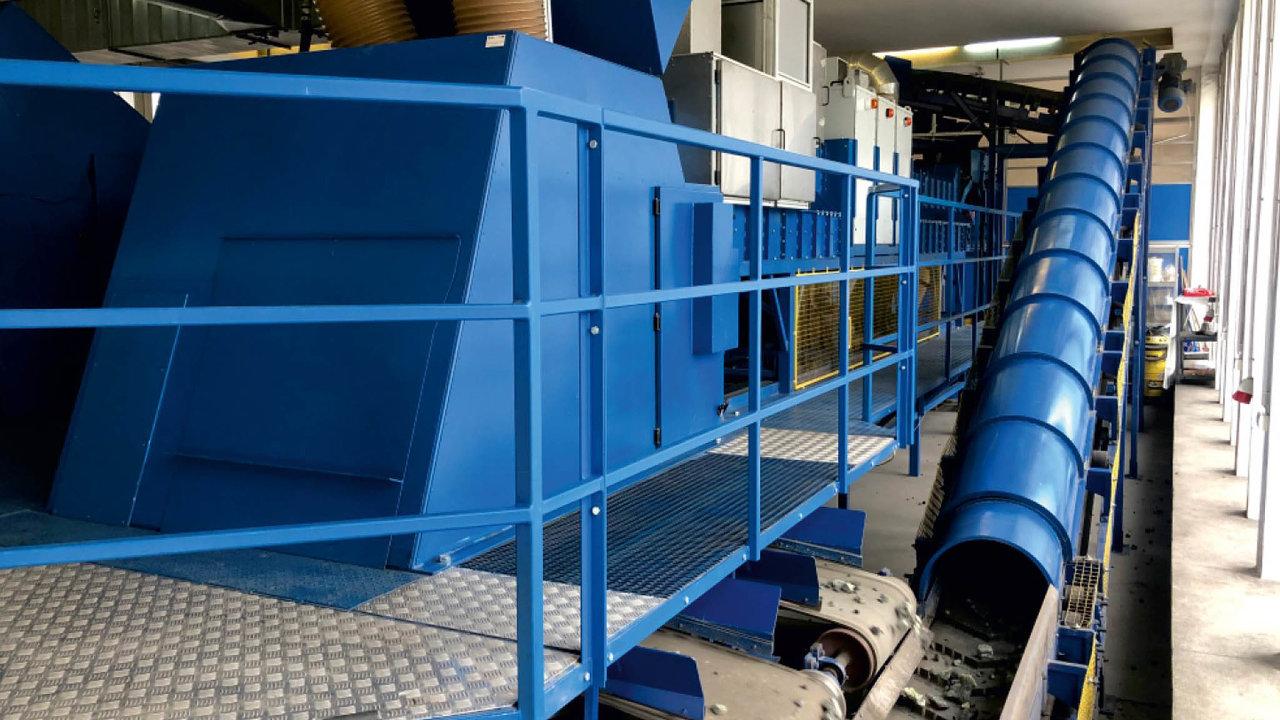 Česká firma Advacam dodává své rentgenové kamery také do třídicí linky polské firmy Comex, která tak dokáže zvytěžené horniny získat více minerálů.
