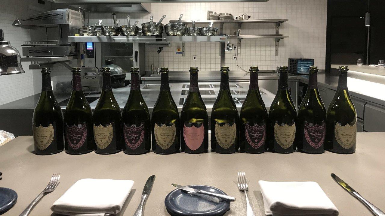 Dom Pérignon v The Eatery